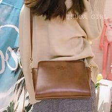 《杜達女孩》超百搭ins超火皮革包 復古小背包 單肩包 側背包 斜背包 肩背包 迷你小跨包 女 皮革