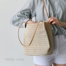 《杜達女孩》網紅必備單品 清新度假編織包 肩背包 編織包 包包 側背包 草編包 手提包 沙灘 草包