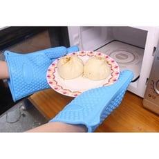 隔熱手套 防燙手套 矽膠手套 五指手套 微波爐烤箱烘焙蒸菜
