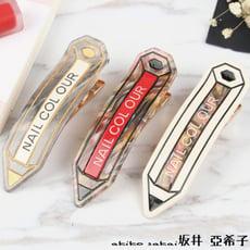 『akiko亞希子』大鉛筆造型馬尾鴨嘴夾