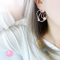 韓國 蝸牛造型耳環 耳環 韓國耳環 【Bonjouracc】