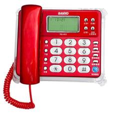 SANYO台灣三洋 TEL-813  來電顯示有線電話