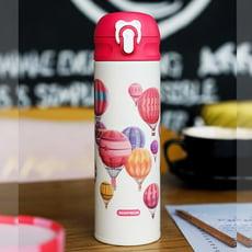 【TD】韓國BEDDYBEAR 杯具熊 限量浪漫氣球彈蓋保溫瓶 316不鏽鋼保溫杯
