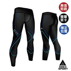 【回購第一】男款萊卡經典強力包覆壓縮褲◆耐磨透氣排汗耐磨★台灣製造《AREX SPORT》中高強度