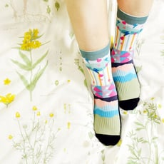 【小創襪】落雨聲