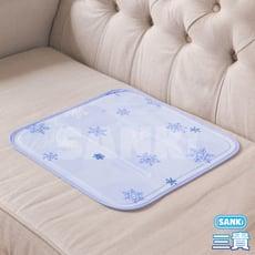 日本sanki 雪花紫 固態凝膠冰涼枕坐墊1入 可選