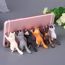 {貓奴必備} 貓咪手機支架  六入組