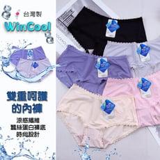 【 Lovely 蘿芙妮】台灣製MIT 蠶絲蛋白極好穿蕾絲內褲