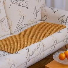 《天然檜木珠》三人沙發椅墊45x150CM