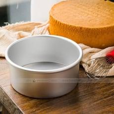 【嚴選SHOP】BreadLeaf 6寸烤箱用模具 烘焙模具 陽極活底蛋糕模具戚風乳酪蛋糕模 鋁合金
