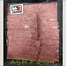 日本A5和牛燒肉片/100公克/厚度0.3公分