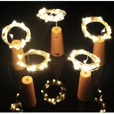 LED燈光效果酒瓶塞燈串