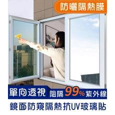 鏡面防窺隔熱抗UV玻璃貼 靜電貼 |GO CHEAP