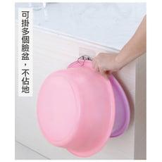 無痕浴室臉盆架 免打孔寶寶浴盆架 多功能不鏽鋼無痕收納架
