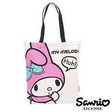 美樂蒂 My Melody 帆布 托特包 肩背包 手提袋 三麗鷗 Sanrio【021063】