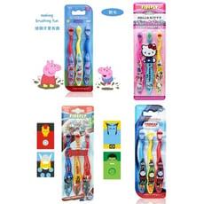 美國進口卡通兒童牙刷3入裝