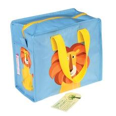英國 Rex London 學生環保便當袋/野餐袋/手提袋/萬用袋_小獅子_RL26947