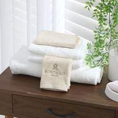 【MONTAGUT】超吸水純棉浴巾&毛巾超值組