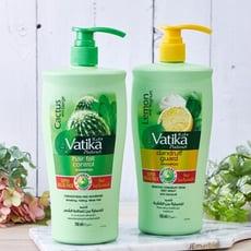 【杜拜DABUR】VATIKA健柔草本/檸檬茶樹洗髮精(家庭號任選6入)
