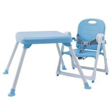 美國品牌ZOE 折疊餐椅 x 折疊桌【冰雪藍】