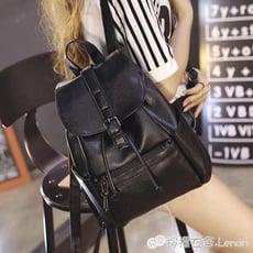 後背包 韓版新款後背包女水洗皮時尚女士背包潮流休閒學院風旅行包包