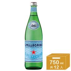 聖沛黎洛 天然氣泡礦泉水 750ml x12瓶/箱