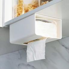 透明貼紙巾盒 透明貼面紙盒 衛生紙盒 衛生紙置物盒 紙巾收納盒 面紙收納盒