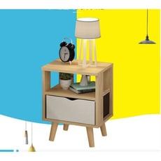 簡易床頭櫃 簡約現代收納小櫃子儲物櫃 北歐臥室迷妳經濟型床邊櫃