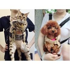 紫蘭軒*免運貓咪背包寵物便攜外出胸前包狗狗書包出行雙肩貓袋子背帶貓包外帶