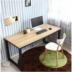 桌子 辦公室桌 電腦桌 現代簡約台式電腦桌雙人辦公桌簡易家用寫字桌書桌長條桌長方形桌 - 長120*