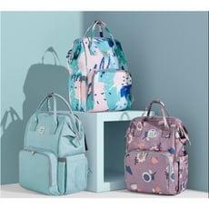 一件免運 媽咪包2020新款時尚雙肩手提多功能母嬰背包超輕便日本外出媽媽包