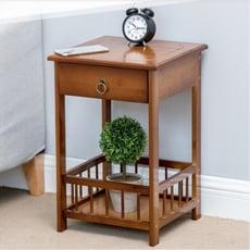 一件免運床頭櫃臥室簡約現代小櫃子迷妳收納櫃儲物櫃簡易床邊桌經濟型 - 原色簡易床頭櫃