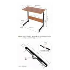 可移動簡易升降筆記本電腦桌床上書桌置地用移動懶人桌床邊電腦桌