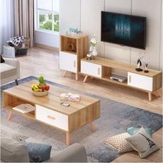 包郵電視櫃 地櫃 茶幾 組合家具 客廳套裝 現代簡約小戶型臥室電視櫃地櫃