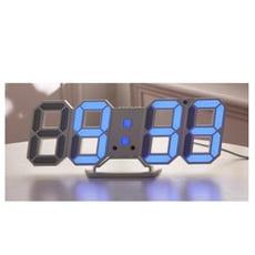 led數字時鐘 3d立體時尚掛墻座鐘 夜光電子鐘 表客廳臥室ins風鬧鐘 - 下單備註款式