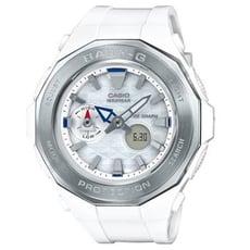【CASIO】BABY-G 海灘概念風格休閒運動錶 白X銀框(BGA-225-7A)