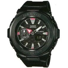 【CASIO】BABY-G 海灘概念風格休閒運動錶 黑X黑框(BGA-225G-1A)