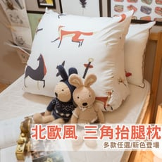 【Annahome】人體工學 ▲三角舒壓抬腿枕▲  多款任選 台灣製