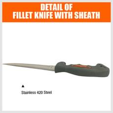 SDY-97261野炊餐刀生魚片刀帶刀套
