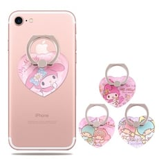 Sanrio三麗鷗 指環扣 手機支架_愛心系列