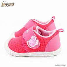 【鞋子部落】佩佩豬 喬治豬 素面款透氣 寶寶鞋 PG8519 桃/藍 (共二色)