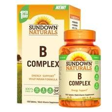 【 小資屋】Sundown日落恩賜 每日綜合B群RDV錠B-COMPLEX(100粒/瓶)