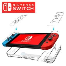 任天堂Switch 第二代水晶透明保護殼 防摔殼(薄型可插底座)