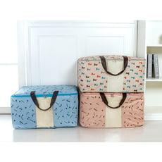 600D加厚印花 牛津布棉被收納袋 行李袋 棉被袋 搬家袋