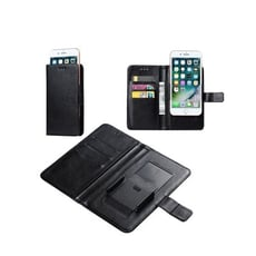 【萬用滑動磁扣皮套】XL 5.5吋~6.5吋 皮套 夾式 通用 共用 掀蓋 可插卡 放零錢