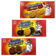 【良辰即拾】義美巧克力/黑可可消化餅156g/盒 義美消化餅180g/盒