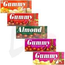 【良辰即拾】義美 QQ巧克球 QQ巧克力球 磚型盒-葡萄/草莓/草莓煉乳 單入組