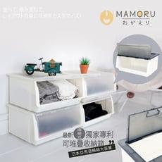 【好購家居】日本亞馬遜暢銷大容量可堆疊掀蓋收納箱 52L (買6入以上送托盤)