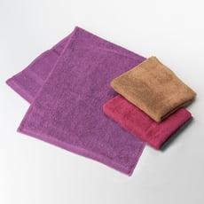 [台灣毛巾網] 北歐風緞檔毛巾(家庭號6入)
