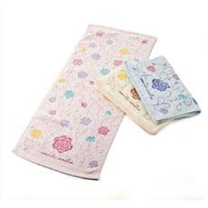 臻品-山茶花印花毛巾(打裝)